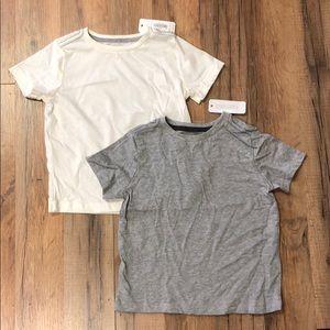 Set of 2 Gymboree Boys Short Sleeve Basic Tees NWT